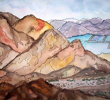 Dead Sea Impressions by TrixiJahn