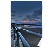 Filey HDR Poster