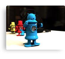 Kitchen Toy Robot Helpers Canvas Print