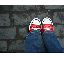 Magic Shoes Photographic Print
