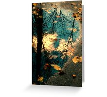Reflections of Blackbird Island Greeting Card