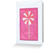 X-mas Lollypop Greeting Card