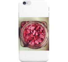 Recipe for love iPhone Case/Skin