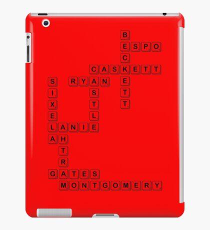 castle scrabble  iPad Case/Skin