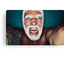 Bad Santa Canvas Print