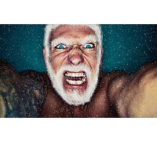 Bad Santa Photographic Print
