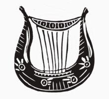Lyre of Orpheus One Piece - Short Sleeve