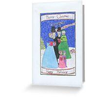 Christmas Carols Greeting Card