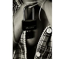 Hillbilly Handcuffs Photographic Print
