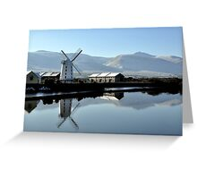Blennerville Windmill, Kerry, Ireland Greeting Card