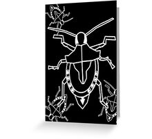 Soldier Stink Bug Greeting Card