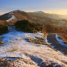 Malvern Hills: Winter Walk by Angie Latham