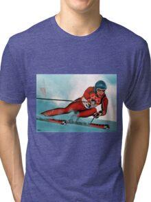 Benjamin Raich painting Tri-blend T-Shirt