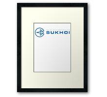 Sukhoi Framed Print