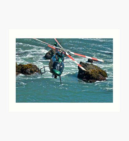 Beach Flight Art Print