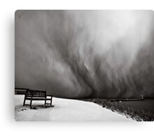 Bench with a view Canvas Print