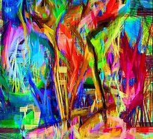 Abstract 9100 by Rafael Salazar