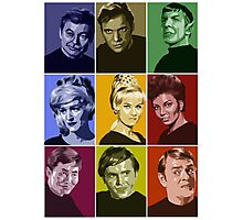 Star Trek TOS Crew (stylized) Photographic Print
