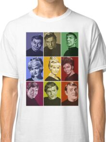 Star Trek TOS Crew (stylized) Classic T-Shirt