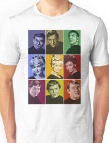 Star Trek TOS Crew (stylized) Unisex T-Shirt