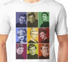 Star Trek TOS Crew (stylized) Unisex T-Shirt