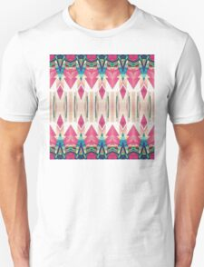 Pointed Mirror Abstract Unisex T-Shirt