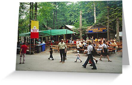 Annafest, Forchheim, Germany. 2003 by David A. L. Davies
