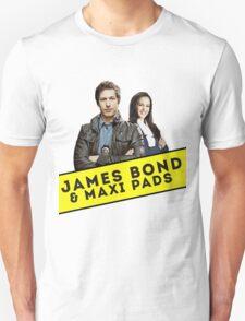 James Bond & Maxi Pads T-Shirt