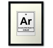AR Element Framed Print