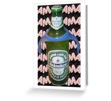 drinky up Greeting Card