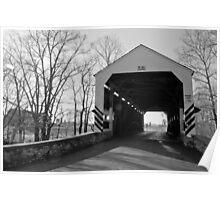 Shenck Mill Bridge Poster
