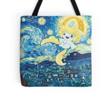Starry Jirachi Tote Bag