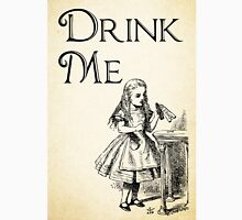 Alice in Wonderland Quote - DRINK ME - Lewis Carroll Qote - 0195 Unisex T-Shirt