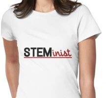 STEMinist Womens Fitted T-Shirt