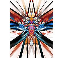 Mirror Image Abstract Photographic Print