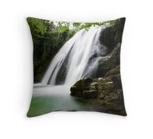 Janet's Foss, North Yorkshire Throw Pillow