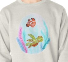 In The Big Blue World! Pullover