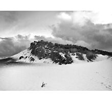 Snow Dune Photographic Print