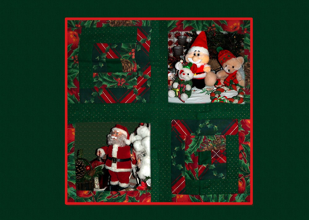 Xmas-Patchwork Placemats by steppeland-2