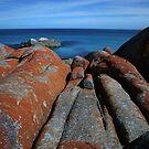 Red Rocks 1 by Adam  Davey