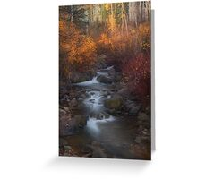 Brush Creek vert Greeting Card