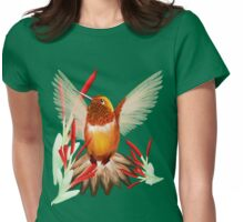 My Sunny Hummingbird Womens Fitted T-Shirt