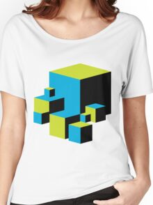 Geometric Blocks Women's Relaxed Fit T-Shirt