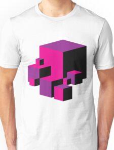 Geometric Blocks (Pink/Purple) Unisex T-Shirt
