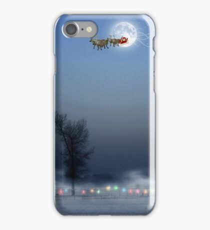 Sleigh bells ring, are you listening? iPhone Case/Skin
