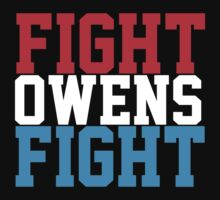 Fight Owens Fight (Blue/White/Red) by KVKVKV