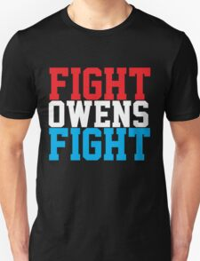 Fight Owens Fight (Blue/White/Red) T-Shirt