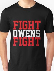 Fight Owens Fight (Red/White) T-Shirt