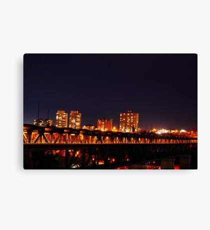Edmonton from another point. Canvas Print