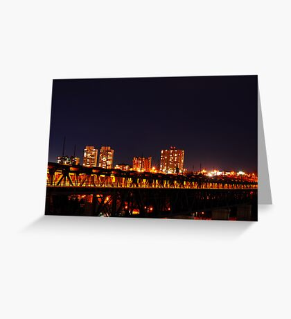 Edmonton from another point. Greeting Card